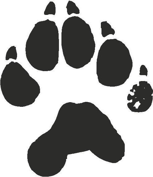 Wolverine-paw-print-picture